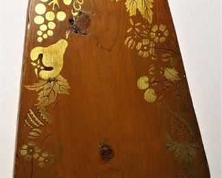 Vintage Stencil Painted Ironing Board