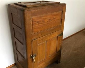 Antique Ice Box - minor repairs required