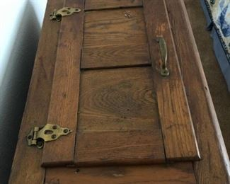 Antique Ice Box - Top View