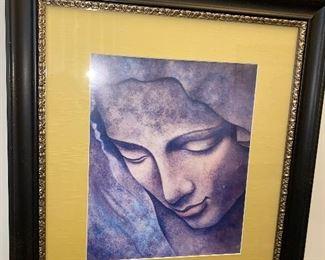 RELIGIOUS FRAMED WALL ART