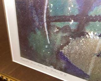 THE FORTUNE TELLER BY ANDREW WYETH FRAMED WALL ART