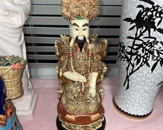 CHINESE MAN SCULPTURE
