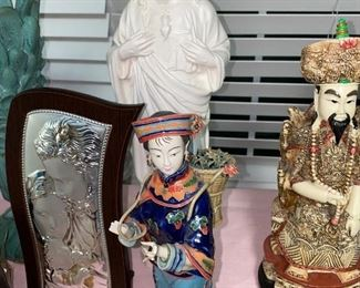 CHINESE WOMAN SCULPTURE