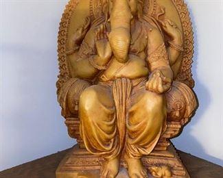 HINDU GOD GANESH SCULPTURE