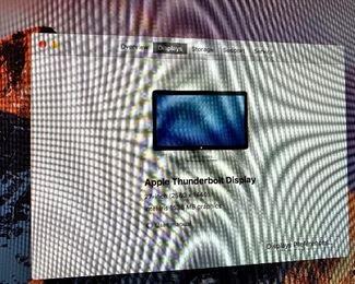 "Mac Mini W/Thunderbolt 27"" Display/Wireless Mouse & Keyboard 2.6GHZ/8GB/1TB"