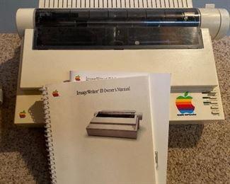 Vintage Apple Image Writer