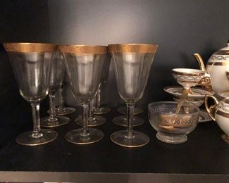 1920's Gold Rimmed china