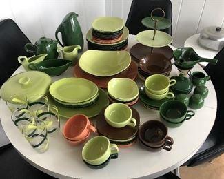 Homer Laughlin pottery 1950's