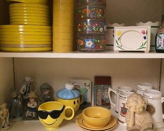 Mid Century pottery and smalls