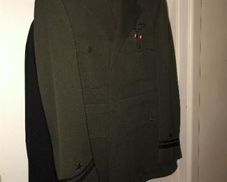 WWII Uniforms and pins