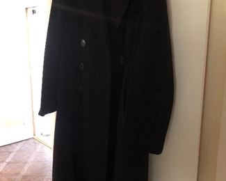 WWII Navy P-coat