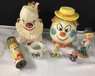 McCoy Clown Cookie Jar & More https://ctbids.com/#!/description/share/282987