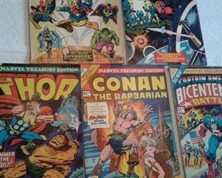 Thor, Conan, Superman, more