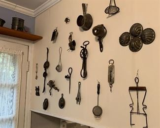 Antique and vintage kitchen tools