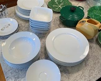 Everyday White Dishes