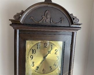 Beautiful Antique  Colonial manufacturing company Grandfather Clock  Zeeland Michigan