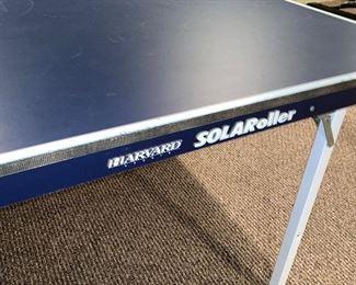 "SOLAROLLER PING PONG TABLE 60"" W x 108"" L x 29.5"" H"