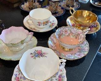COLLECTIBLE TEA CUPS