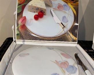 CAKE PLATTER SET