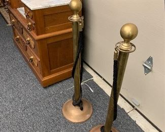 BRASS STANCHIONS