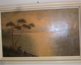 Mario Rossi Oil on Canvas