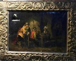 004MRudolf Jelinek Antique Oil Painting
