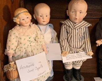 Heubach's -June Coquette (German) Heubach's -Henry Heubach's-Whistler