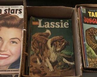 Vintage Comic Books & Magazines