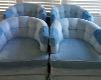 4 Blue Armchairs https://ctbids.com/#!/description/share/284971