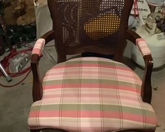 Antique Caned Chair