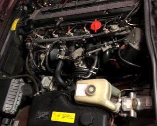 Motor of Jaguar