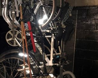 SOME OF THE BICYCLES
