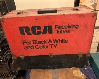LOADS OF TELEVISION TEST TUBS