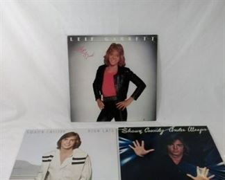 shaun cassidy and Leif Garrett records