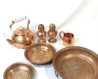 copper pieces
