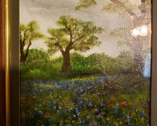 Bluebonnet Painting