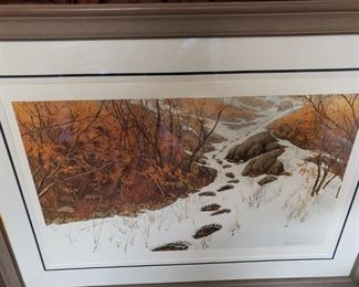 "Limited Edition Bev Doolittle- ""Doubled Back"" Signed and Numbered"