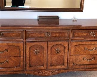 Thomasville Dresser with matching headboard
