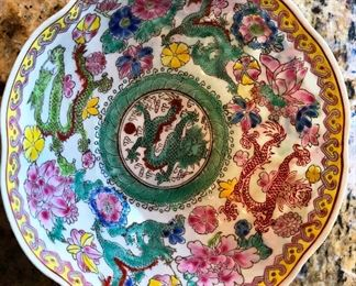 oriental eggshell bowl