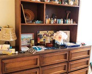 dresser with hutch