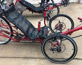 Recumbant bike