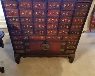 Very nice asian chest with multiple drawers