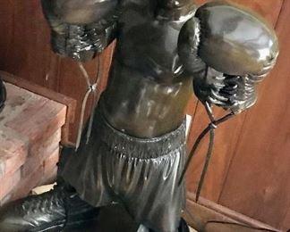 Bronze statue, Little Boxer