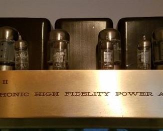 CITATION II HARMON KARDON HIGH FIDELITY POWER AMPLIFIER