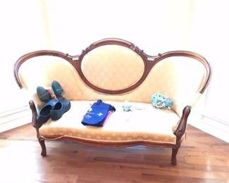 Victorian rosemont sofa