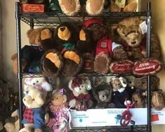 Teddy Bears, collectible, vintage, and in perfect condition.  Rare finds.
