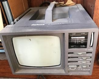 Deluxe Portable TV