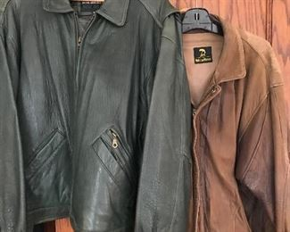 Cool Cat leather bombers