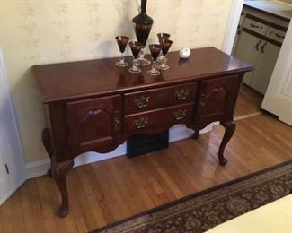 Wooden Sideboard and More