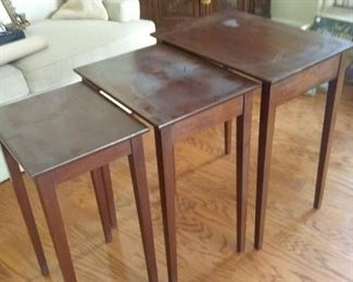 Classic MidCentury Stackable Accent Tables